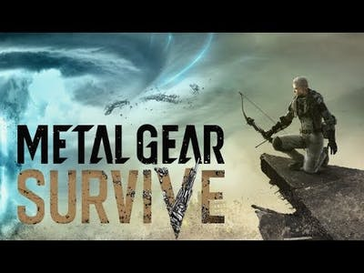 Metal Gear Survive Action filled gameplay.. of boredom