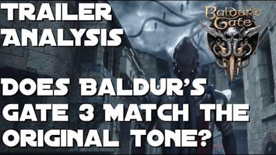 Baldur's Gate 3 - Does it Match the Original Tone?