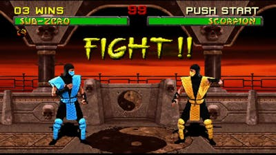 (Arcade Kollection) Mortal Kombat 2 Sub Zero Klassic Tower