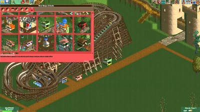 Roller Coaster Tycoon 2 - Crazy Castle Part 1