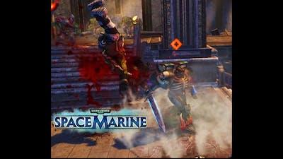 Damned Legioner vs Orks ! - Warhammer 40k:Space marine   Augmented mod 2021