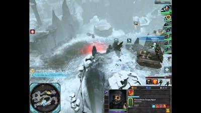 Dawn of War II Retribution Very Hard Imperial Guard Walkthrough Mission 6 Part I
