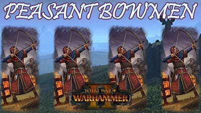 CORE UNIT: Peasant Bowmen - Bretonnia vs Dark Elves // Total War: WARHAMMER II Multiplayer Battle