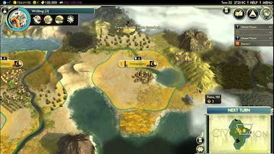 Let's Play Civilization V: Earth Shaker; (Immortal difficulty) part 1