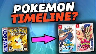 The Pokémon Timeline Explained (Pokemon Games)