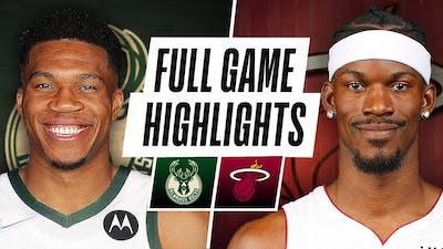 Milwaukee Bucks vs Miami Heat Full Game Highlights  - October  21, 2021 | 2021-22 NBA Season