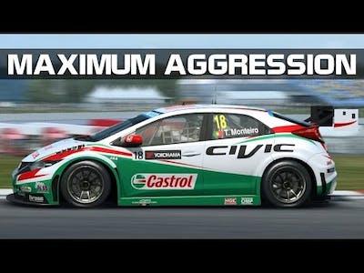 RaceRoom Racing Experience - Maximum Aggression (WTCC 2015 @ Brands Hatch)