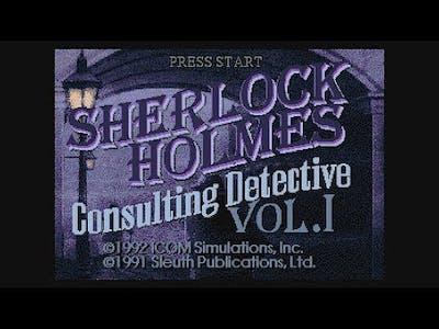 20 Mins Of...Sherlock Holmes - Consulting Detective Intro (US/Sega-CD)