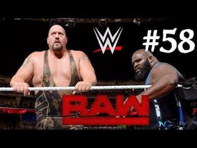 WWE 2K18 || Big Show vs Mark Henery || WWE RAW 2018