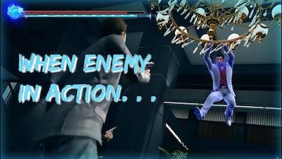 Yakuza Kiwami 2 (PC) ALL Action Fails