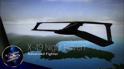 Vector Thrust - X-49 Night Raven Demo