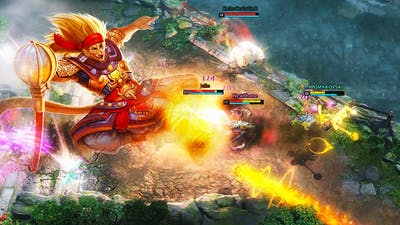Super Saiyan Monkey King | HoN Gameplay