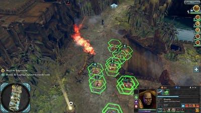 Warhammer 40,000: Dawn of War II - Retribution ► Space Marine Campaign #2 ► Ladon Temple Ruins