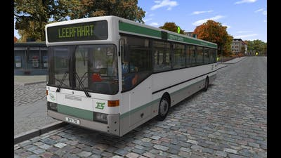 OMSI 2 | MB O405 in Neuendorf | Going to garage / depot  |  60FPS