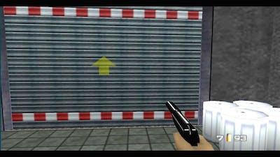 GoldenEye 007 (N64) 100% walkthrough - Mission 1, Part 3: Runway, Chemical Warfare Facility #2