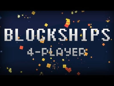 Blockships - Protect Your Core!!! (4 Player Gameplay)