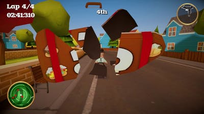 #8 Bad Racing Games - Coffin Dodgers