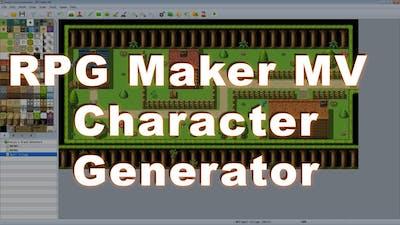 RPG  Maker MV Tips and Tricks Series: #2 Character Generator Guide