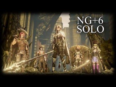Code Vein: All Bosses Solo NG+6 No Damage