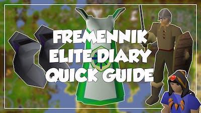 Fremennik Elite Diary Quick Guide - Old School Runescape/OSRS