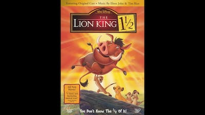 Opening to The Lion King 1 1/2 DVD (2004, Both Discs)