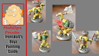Ironskull's Boyz Painting Guide Nightvault/Shadespire - For the Beginner