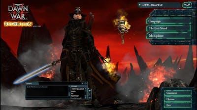 Dawn Of War II Retriution Last Stand : Chaos Sorcerer Powers Unleashed!