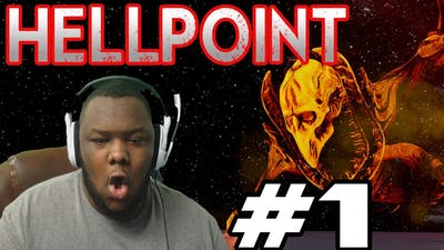 NEW DARK SOULS GAME IN SPACE?! (HELLPOINT Part 1)