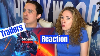 Mass Effect Triple Trailer Reaction Take Earth Back, Next Mass Effect Teaser, Legendary Reveal