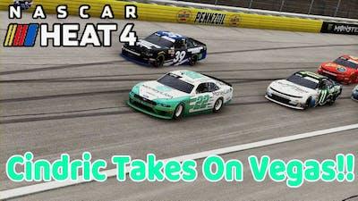 NASCAR Heat 4 - Cindric Takes On Vegas!!