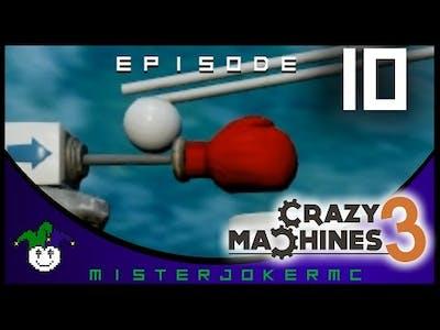 Crazy Machines 3 Gameplay - 10 - Space and Gravity