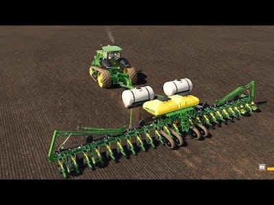 Creating A MASSIVE Farm on No Mans Land #6| Farming Simulator 19 Timelapse |FS19 Timelapse |Planting