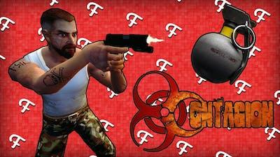 Contagion: Epic Weapon Stock Room & ECO's Grenade! (Zombie Apocalypse - Comedy Gaming)