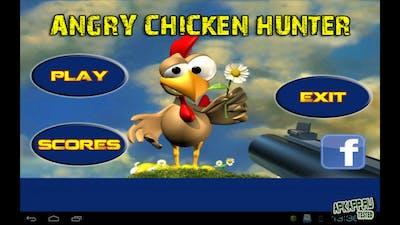 игра Лес пруд курицы - клон знаменитой Moorhuhn для андроид - Game Angry Chicken Hunter