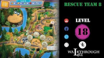 Rescue Team 8 - Level 18 Walkthrough