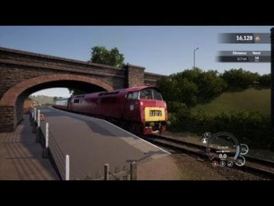 Train Sim World - Class 52 Introduction on the West Somerset Railway