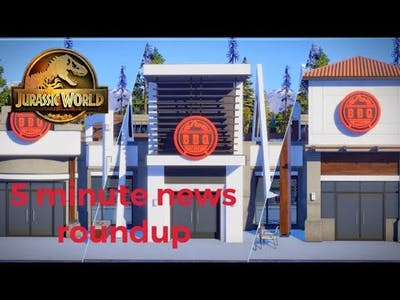 Jurassic World Evolution 2 News Recap In 5 Minutes