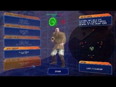 My favorite mod on Star wars battlefront classic 2004