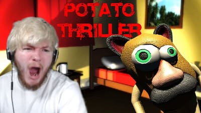 THE FUNNIEST, MOST UNSETTLING HORROR GAME I'VE EVER PLAYED | Potato Thriller #1
