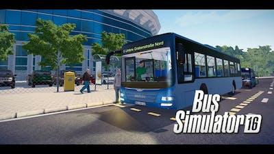 Bus Simulator 16 -  Buszozás egy Mercivel ;)