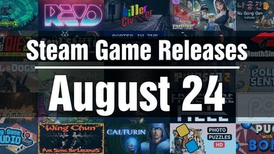 New Steam Games - Tuesday August 24 2021
