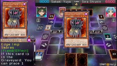 Yu-Gi-Oh! ARC V Tag Force Special - Yuya Sakaki vs Sora Shiunin