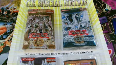 Best Yugioh GX 2006 Special Edition Booster Pack Opening! .....