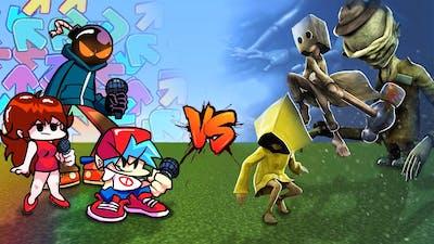 Friday Night Funkin' vs Little Nightmares | Minecraft