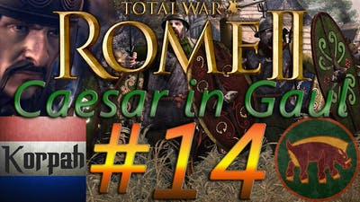 Total War Rome 2 Arverni Legendary Caesar in Gaul Campaign | #14 | Tolosa will be ours