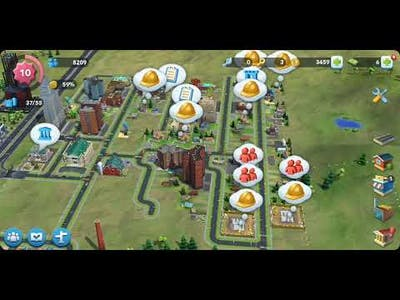 SimCity BuildIt Gameplay (in French)   GigDjinn Post Dud Gaming Surfer