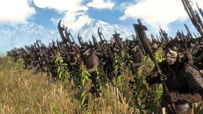 The Dwarves Vs Moria Orcs | 12,000 Unit Cinematic Battle | Total War Rise of Mordor