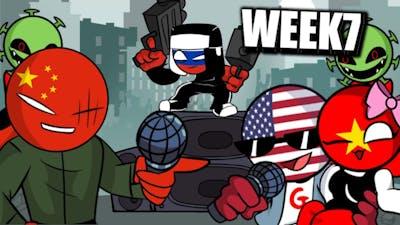 Friday Night Funkin week 7 (countryhumans china vs America) corona