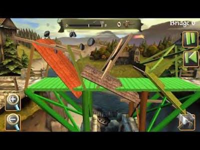 Bridge Constructor Medieval Supplies For tbe Castle Choose a Chapter i Bridge 1-6 ii Bridge 1-3 2020