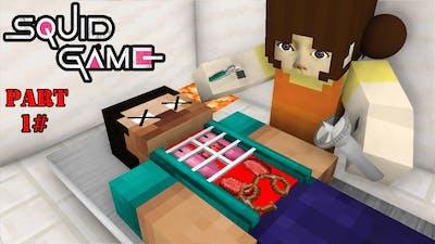 Monster School: Squid Game Challenge (Part1)  - Minecraft Animation